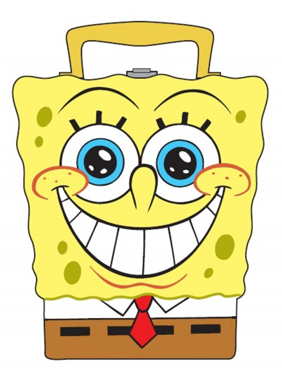 SpongeBob Carry-All Tin, halloween costume (SpongeBob Carry-All Tin)