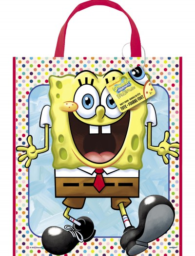 SpongeBob Party Tote Bag, halloween costume (SpongeBob Party Tote Bag)