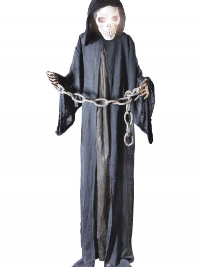 Standing Black Reaper in Chains, halloween costume (Standing Black Reaper in Chains)