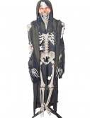 Standing Light Up Skeleton Reaper, halloween costume (Standing Light Up Skeleton Reaper)
