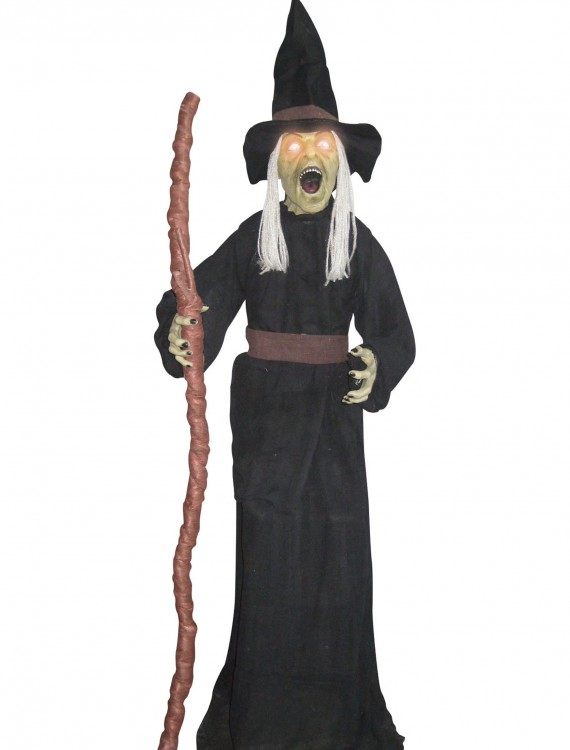 Standing Witch with Light Up Eyes, halloween costume (Standing Witch with Light Up Eyes)