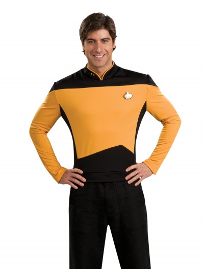 Star Trek: TNG Adult Deluxe Operations Uniform, halloween costume (Star Trek: TNG Adult Deluxe Operations Uniform)
