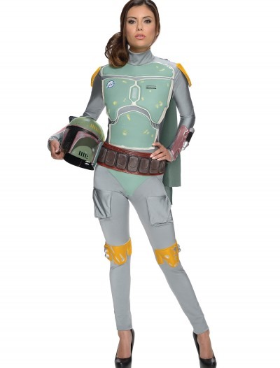 Star Wars Female Boba Fett Bodysuit, halloween costume (Star Wars Female Boba Fett Bodysuit)