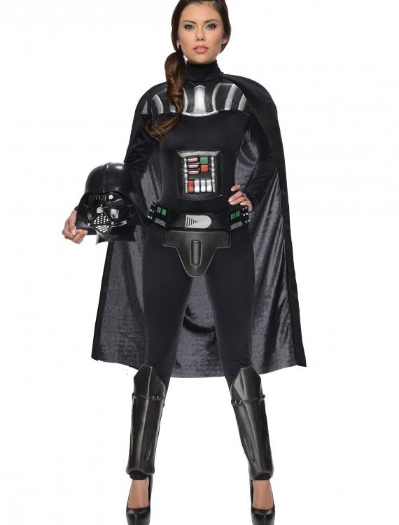 Star Wars Female Darth Vader Bodysuit, halloween costume (Star Wars Female Darth Vader Bodysuit)