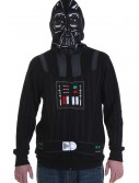 Star Wars Full Face Darth Vader Hoodie, halloween costume (Star Wars Full Face Darth Vader Hoodie)