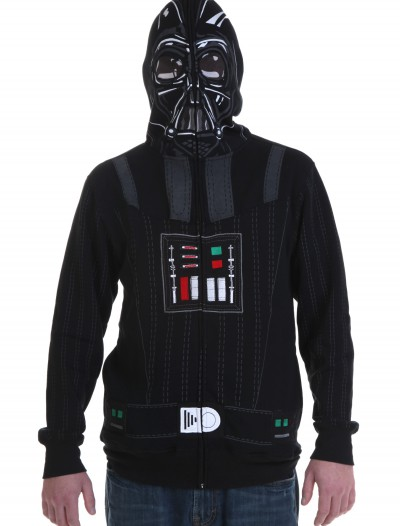 Star Wars Full Face Darth Vader Hoodie, halloween costume (Star Wars Full Face Darth Vader Hoodie)