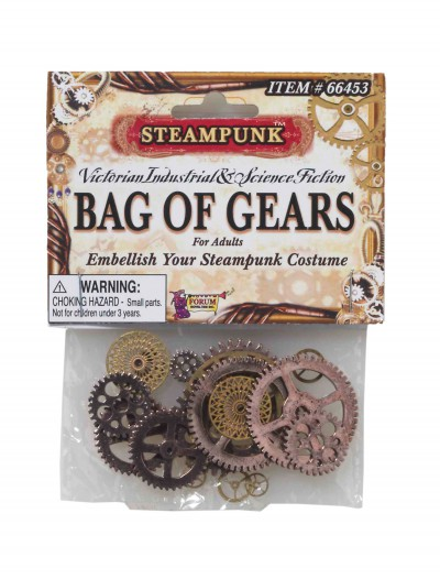 Steampunk Bag of Gears, halloween costume (Steampunk Bag of Gears)