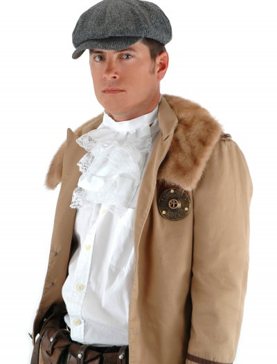 Steampunk Driver Herringbone Hat, halloween costume (Steampunk Driver Herringbone Hat)