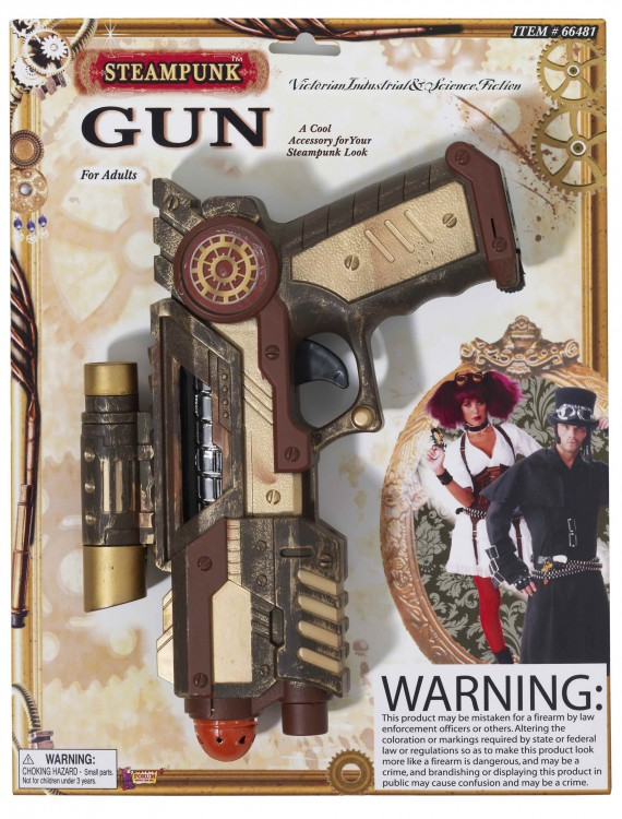 Steampunk Space Gun, halloween costume (Steampunk Space Gun)