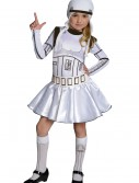 Storm Trooper Girls Dress Costume, halloween costume (Storm Trooper Girls Dress Costume)