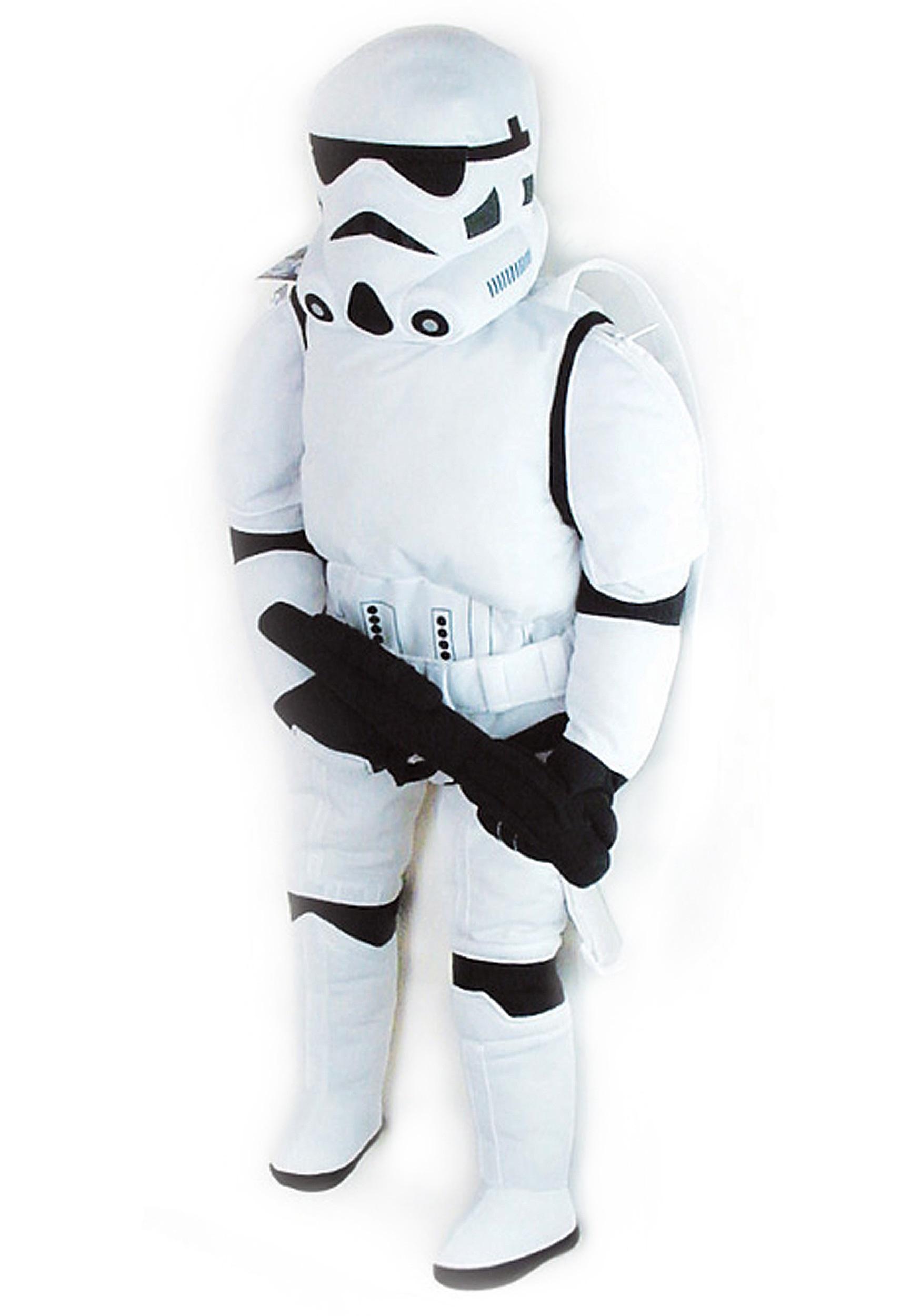 Storm Trooper Halloween Costume   Stormtrooper Back Buddy Halloween Costumes