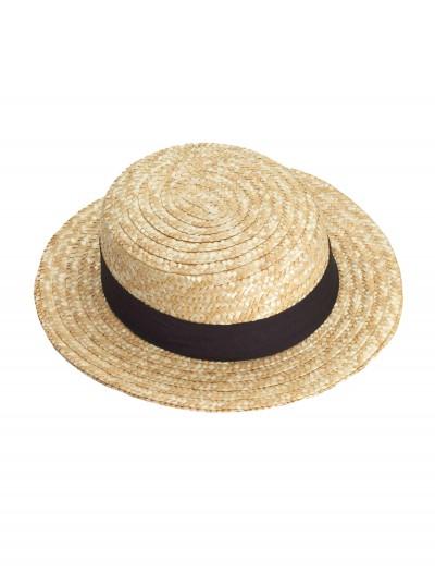 Straw Skimmer Hat, halloween costume (Straw Skimmer Hat)