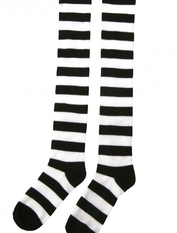 Striped Witch Socks, halloween costume (Striped Witch Socks)