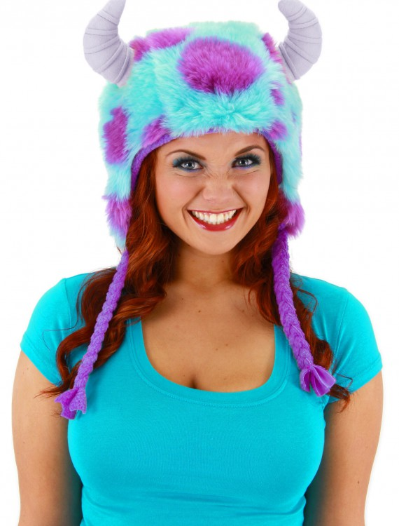 Sulley Deluxe Hoodie Hat, halloween costume (Sulley Deluxe Hoodie Hat)