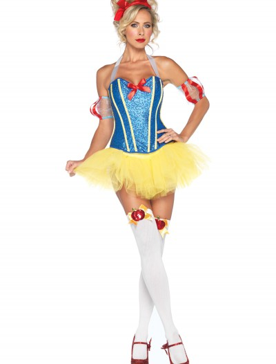 Sultry Snow White Costume, halloween costume (Sultry Snow White Costume)