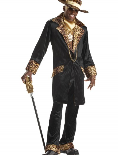 Supa Mac Daddy Pimp Costume, halloween costume (Supa Mac Daddy Pimp Costume)