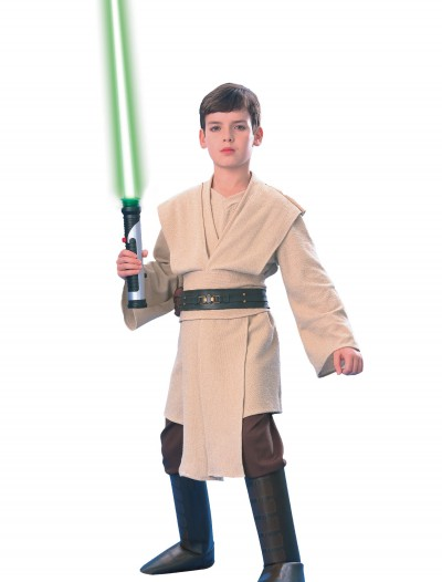 Super Deluxe Child Qui-Gon Jinn, halloween costume (Super Deluxe Child Qui-Gon Jinn)