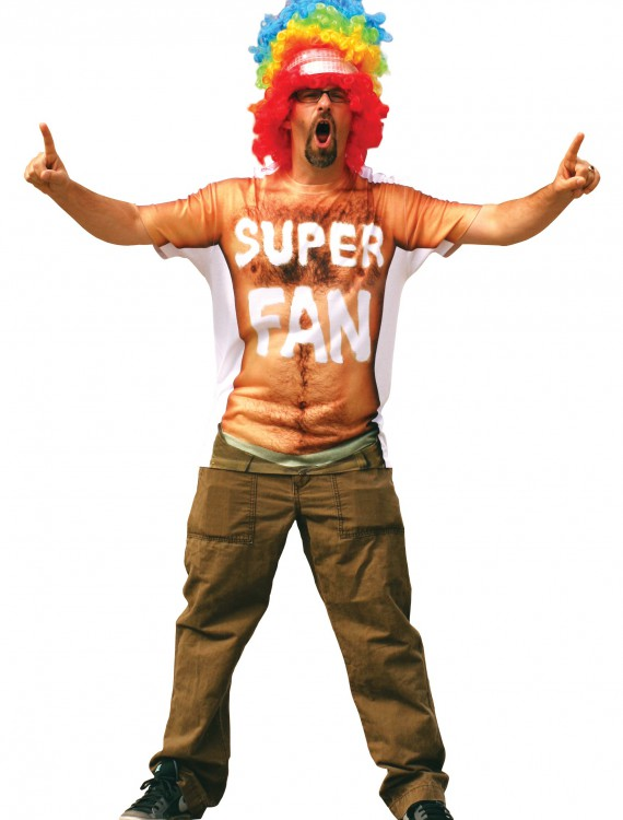 Super Fan T-Shirt, halloween costume (Super Fan T-Shirt)