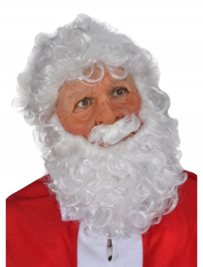 Super Soft Santa Mask, halloween costume (Super Soft Santa Mask)