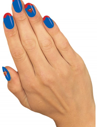 Supergirl Nail Strips, halloween costume (Supergirl Nail Strips)