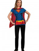 Supergirl T-Shirt Costume, halloween costume (Supergirl T-Shirt Costume)