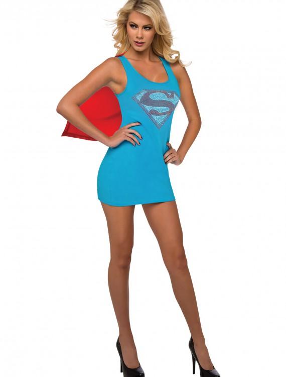 Supergirl Tank Dress, halloween costume (Supergirl Tank Dress)