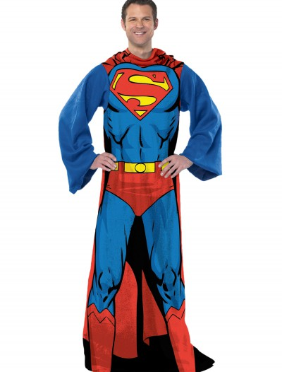 Superman Adult Comfy Throw, halloween costume (Superman Adult Comfy Throw)