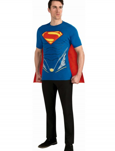 Superman Adult Costume Top, halloween costume (Superman Adult Costume Top)