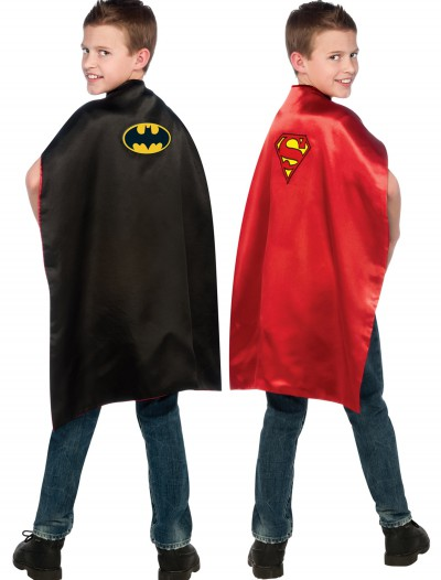 Superman/Batman Double Sided Cape, halloween costume (Superman/Batman Double Sided Cape)