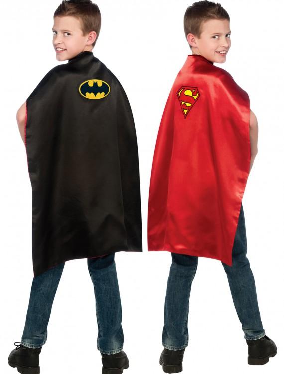 Superman/Batman Double Sided Cape, halloween costume (Superman/Batman Double Sided Cape)