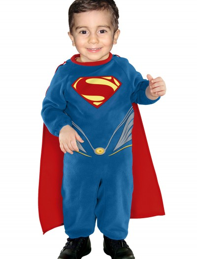 Superman EZ on Romper, halloween costume (Superman EZ on Romper)