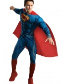 Superman Man of Steel Adult Deluxe Costume, halloween costume (Superman Man of Steel Adult Deluxe Costume)