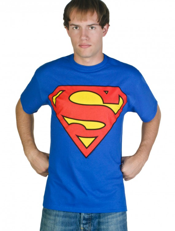Superman Shield Costume T-Shirt, halloween costume (Superman Shield Costume T-Shirt)