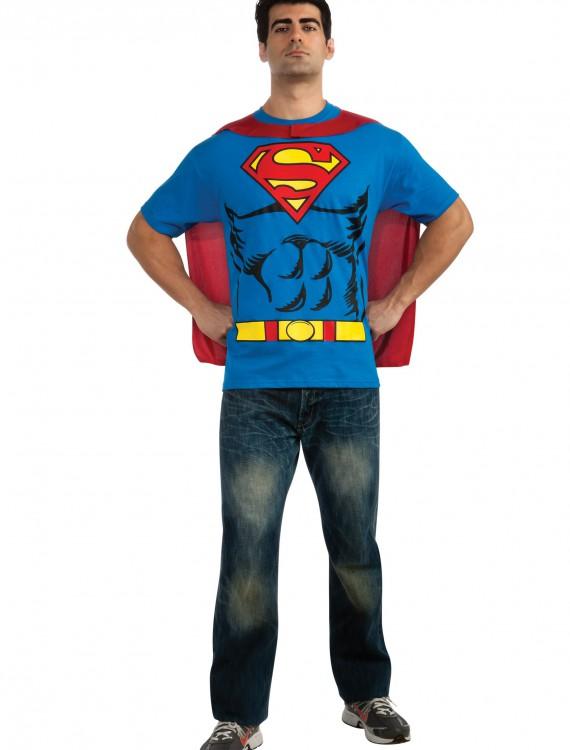 Superman T-Shirt Costume, halloween costume (Superman T-Shirt Costume)