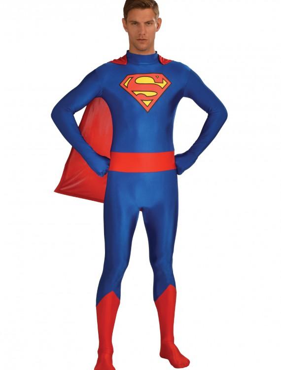 Superman Unisex Skin Suit, halloween costume (Superman Unisex Skin Suit)