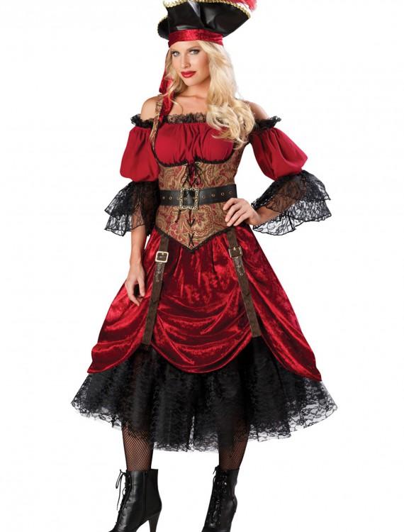 Swashbucklin' Scarlet Costume, halloween costume (Swashbucklin' Scarlet Costume)