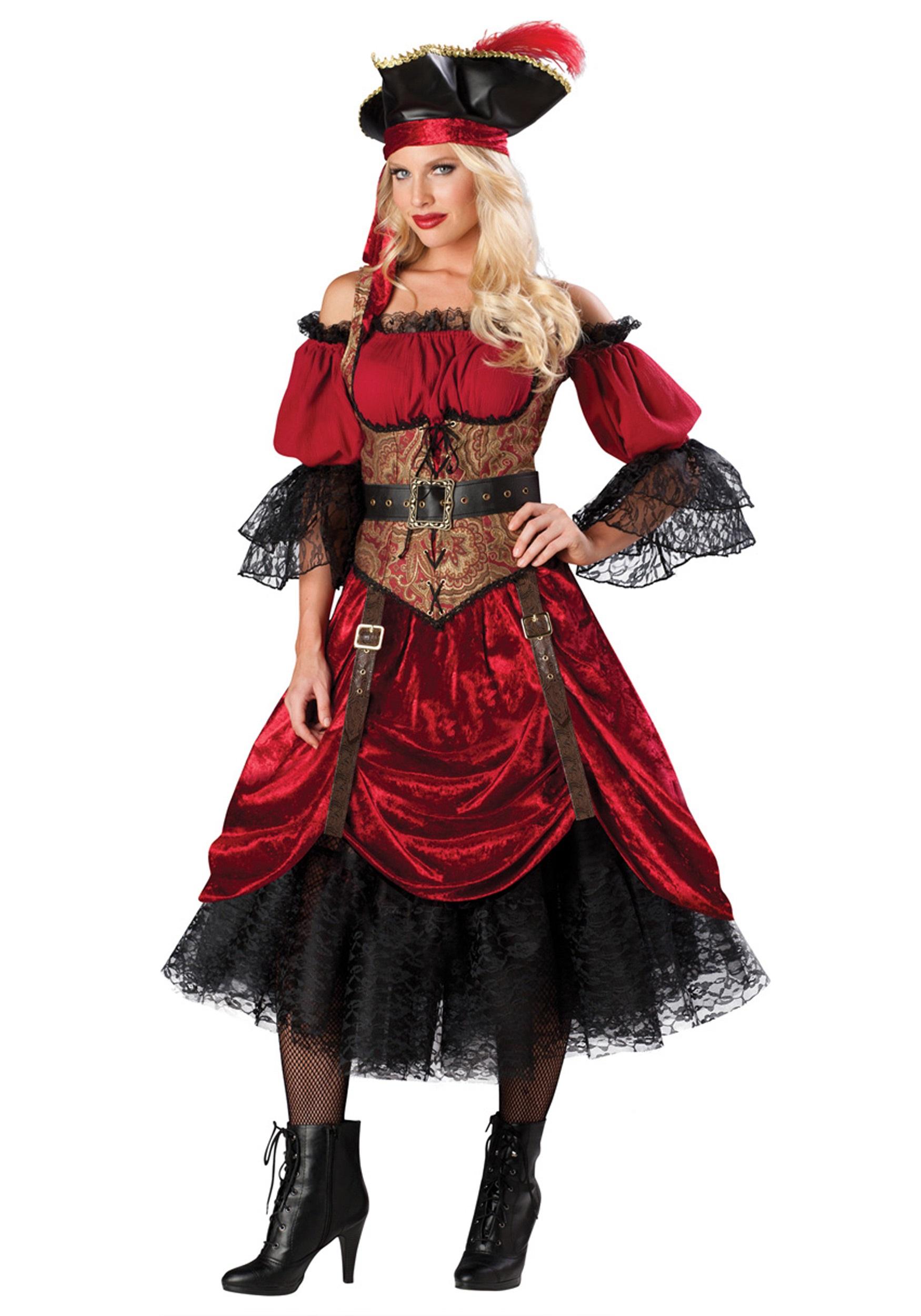 Пиратки костюм взрослый