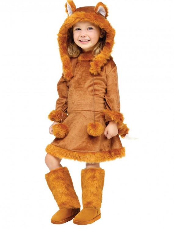 Sweet Fox Girls Costume, halloween costume (Sweet Fox Girls Costume)