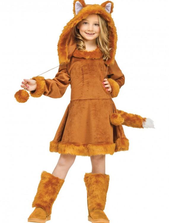 Sweet Girls Fox Costume, halloween costume (Sweet Girls Fox Costume)