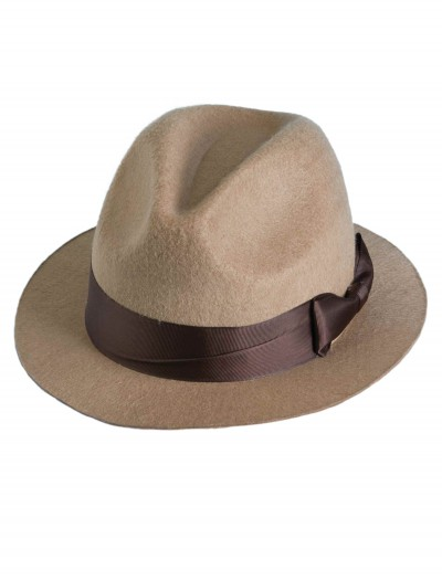 Tan Fedora, halloween costume (Tan Fedora)
