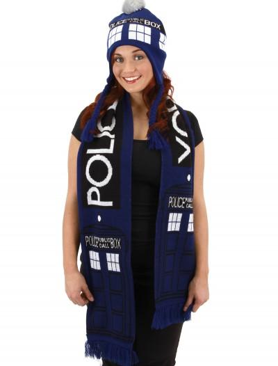 TARDIS Scarf, halloween costume (TARDIS Scarf)