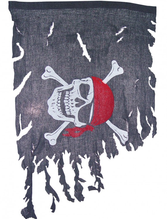 Tattered Pirate Flag, halloween costume (Tattered Pirate Flag)