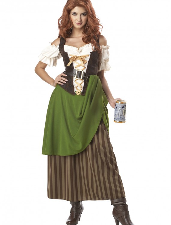 Tavern Maiden Costume, halloween costume (Tavern Maiden Costume)
