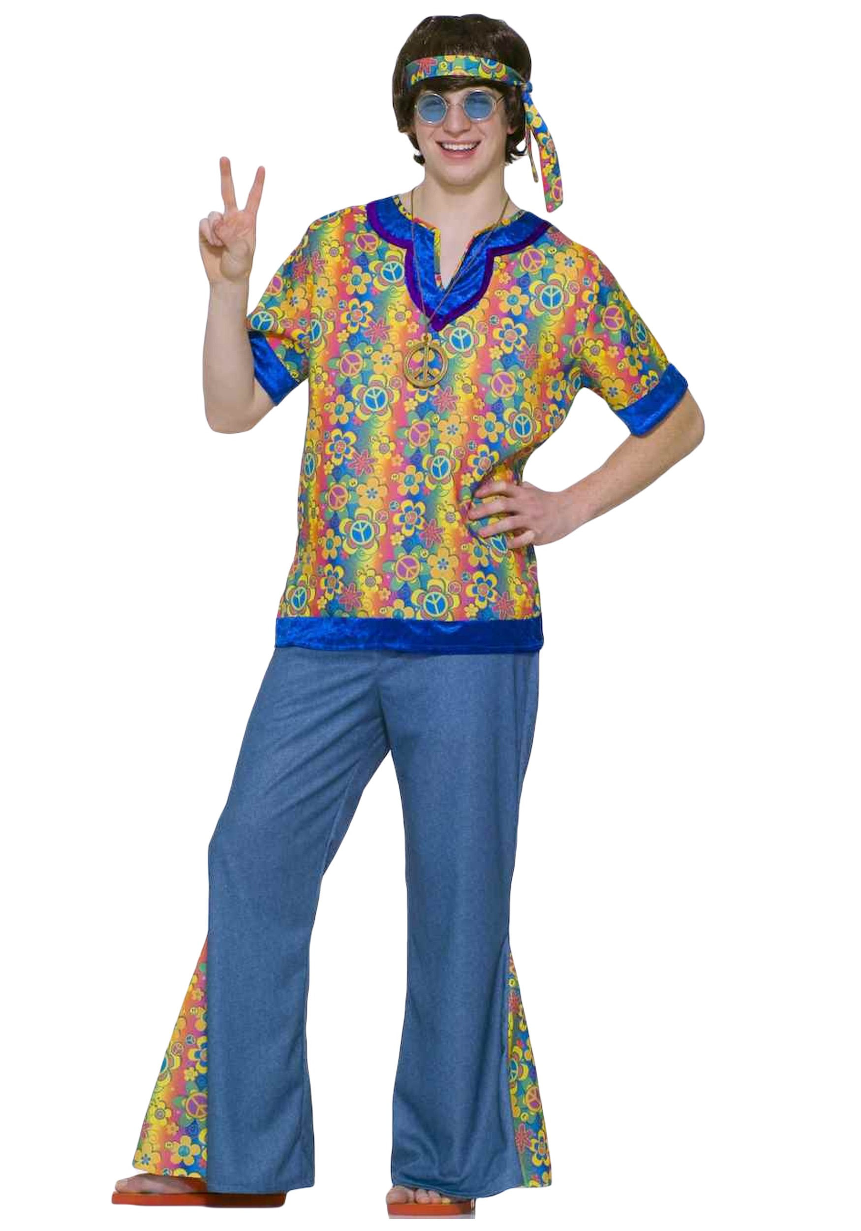 teen 60s hippie costume - halloween costumes