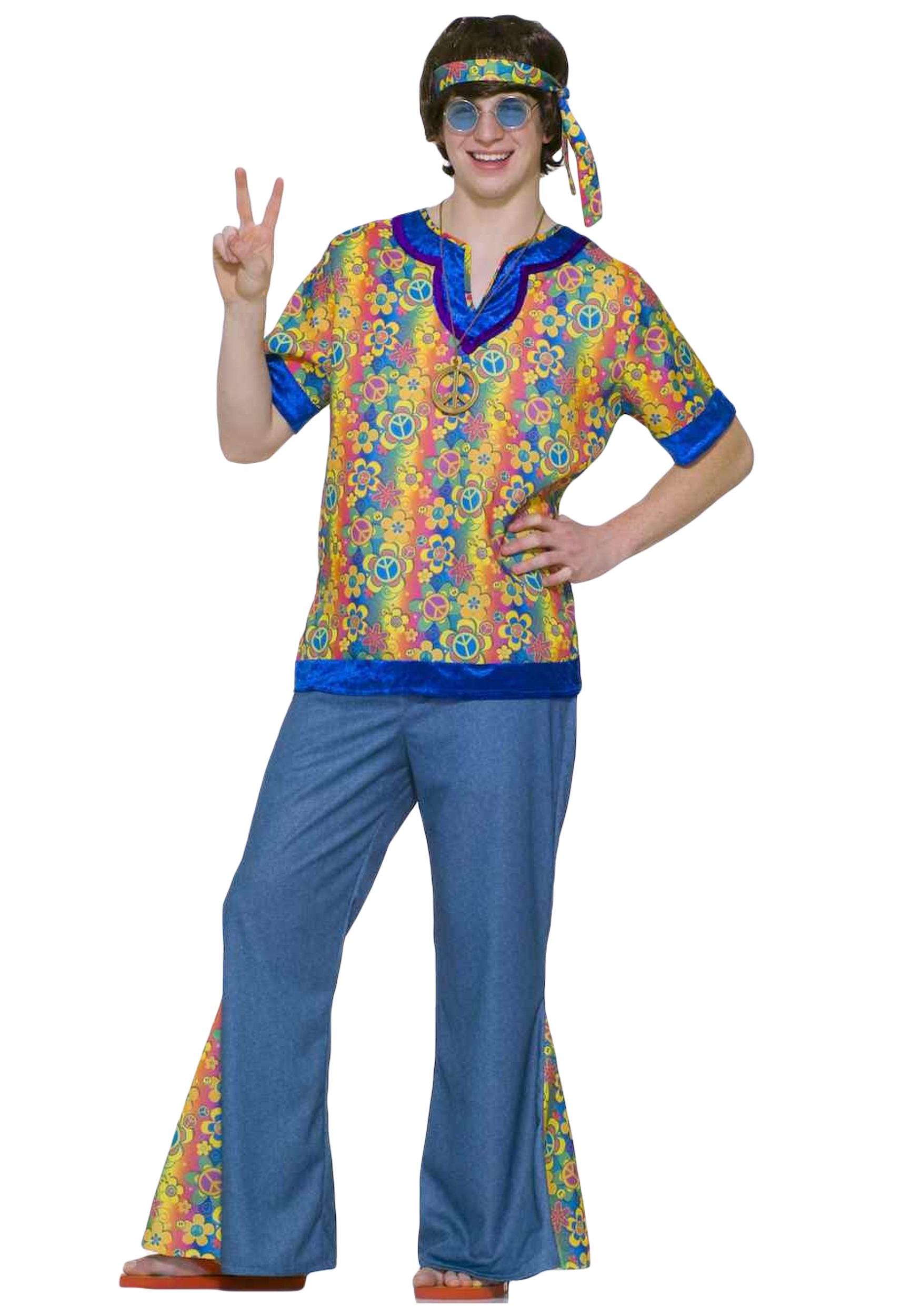 Teen 60s Hippie Costume  sc 1 st  Halloween Costumes & Teen 60s Hippie Costume - Halloween Costumes