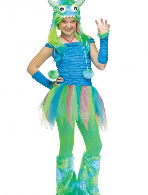 Teen Blue Beastie Monster Costume, halloween costume (Teen Blue Beastie Monster Costume)