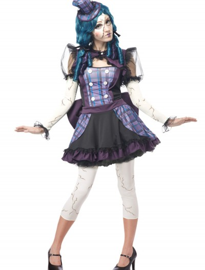 Teen Broken Doll Costume, halloween costume (Teen Broken Doll Costume)