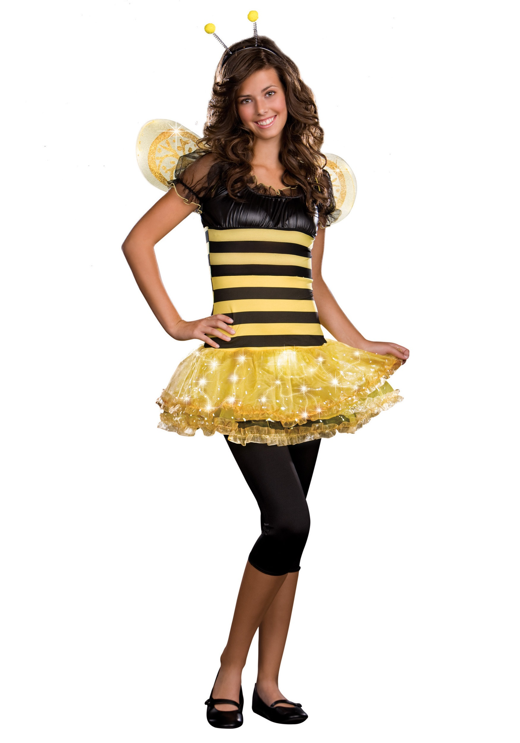 Teen Busy Lil Bee Costume  sc 1 st  Halloween Costumes & Teen Busy Lil Bee Costume - Halloween Costumes