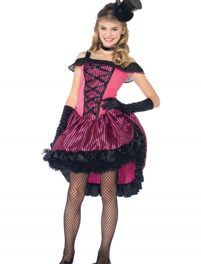 Teen Can Can Girl Costume, halloween costume (Teen Can Can Girl Costume)