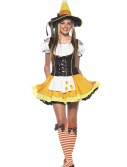 Teen Candy Corn Witch Costume, halloween costume (Teen Candy Corn Witch Costume)